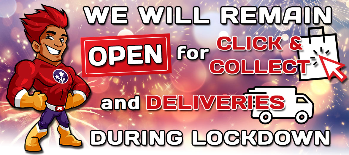 Click & Collect and Delivery Available